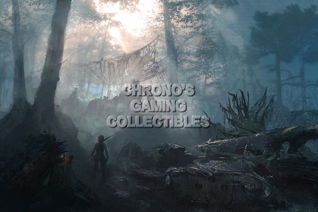 CGC Huge Poster - Tomb Raider Art - PS3 PS4 XBOX 360 ONE - TOM004