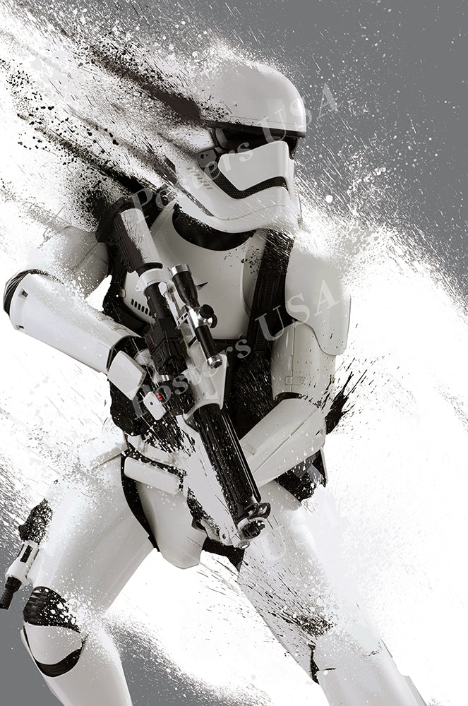 Posters USA - Star Wars Episode VII The Force Awakens Storm Trooper Movie Poster GLOSSY FINISH - FIL340