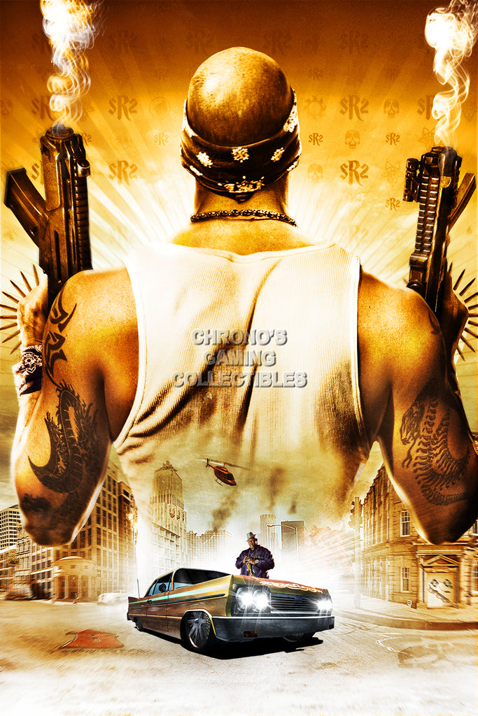 CGC Huge Poster - Saints Row 2 PS3 XBOX 360 PC - SSR001
