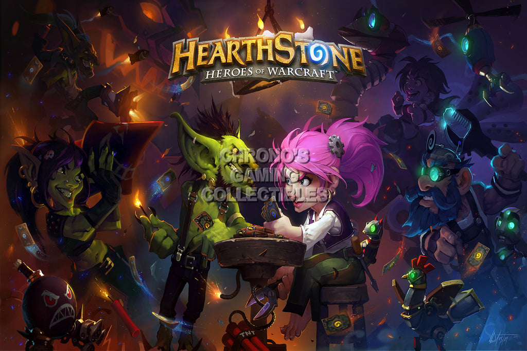 CGC Huge Poster - Hearthstone Heroes of Warcraft  - HEA011