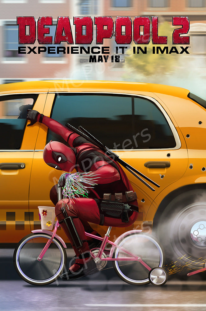 MCPosters - Marvel Deadpool 2 GLOSSY FINISH Movie Poster - FIL984