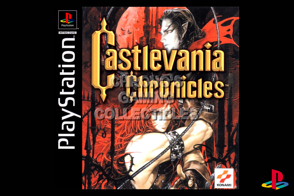 CGC Huge Poster - Castlevania Chronicles - Playstation PS1 PSX - PSX014