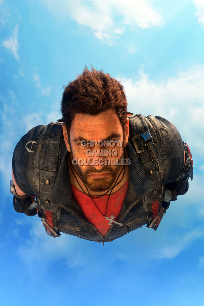 CGC Huge Poster - Just Cause 3 Rico PS3 XBOX 360 PC - JUS007