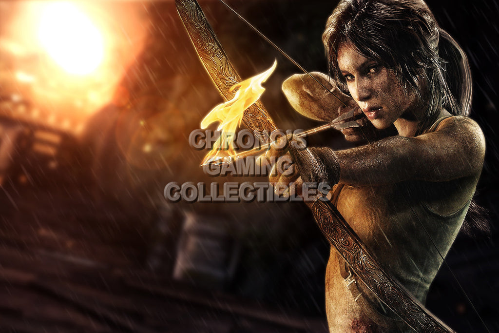 CGC Huge Poster - Tomb Raider - PS3 PS4 XBOX 360 ONE - TOM007