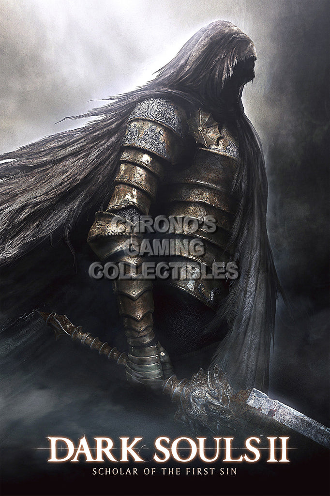 CGC Huge Poster - Dark Souls II Scholar of The first Sin PS3 PS4 Xbox 360 One - DSS013