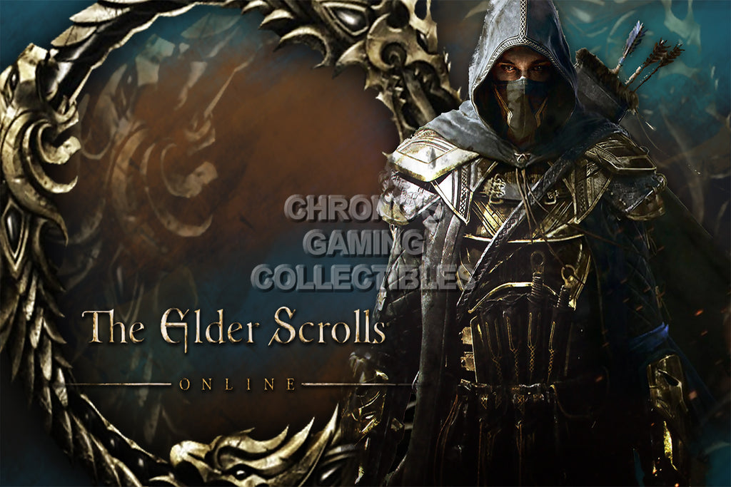 CGC Huge Poster - Elder Scrolls Online XBOX 360 ONE PS3 PS4 - EDS020