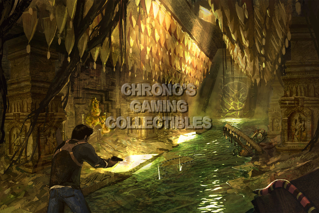 CGC Huge Poster - Uncharted 2 Among Thieves - PS3 - UCH004