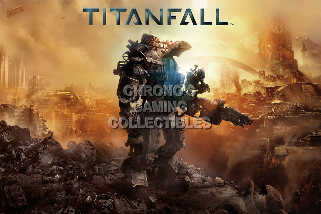 CGC Huge Poster - Titanfall - XBOX 360 ONE PC - TAN001
