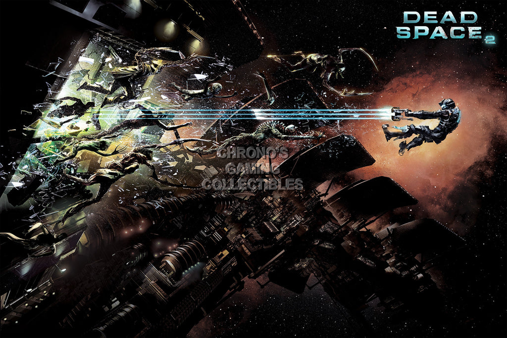 CGC Huge Poster - Dead Space 2 PS3 XBOX 360 PC - DSP005