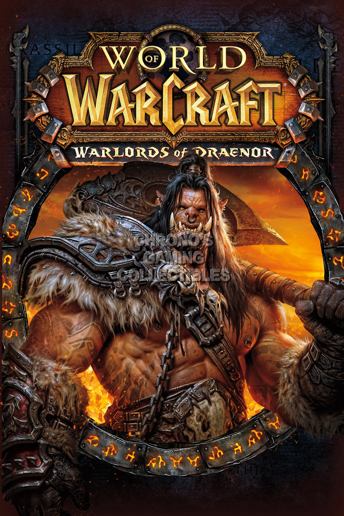 CGC Huge Poster - World of Warcraft Warlords of Draenor BOX ART PC - EXT181