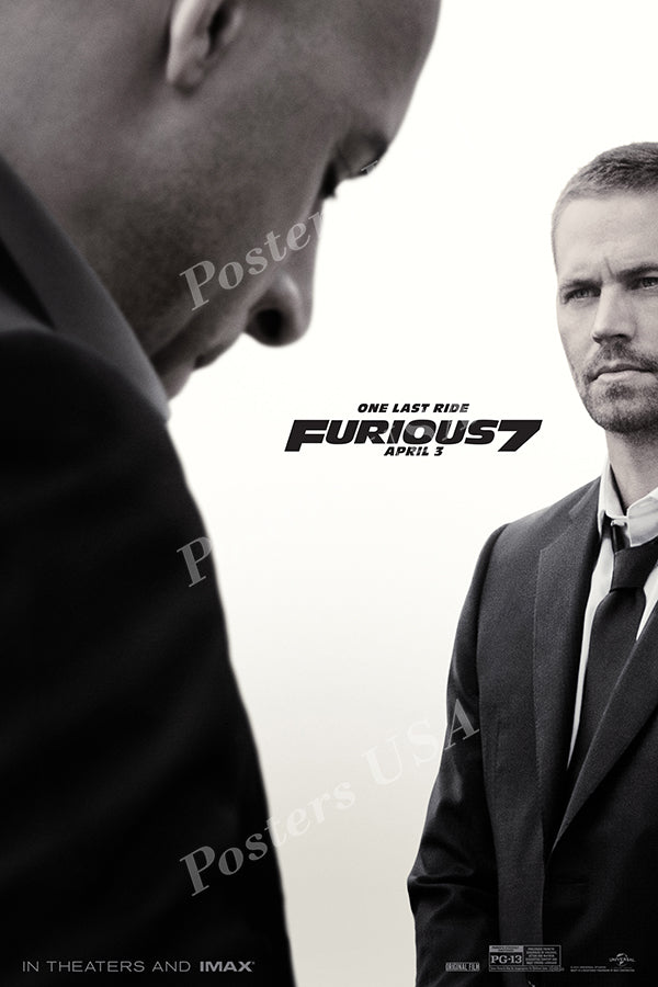 Posters USA - Fast and Furious 7 Movie Poster GLOSSY FINISH - MOV284