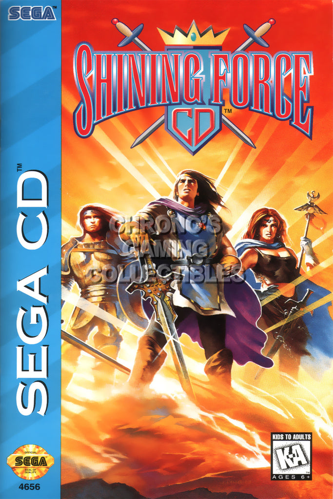 CGC Huge Poster - Shining Force CD Sega CD - SHF006