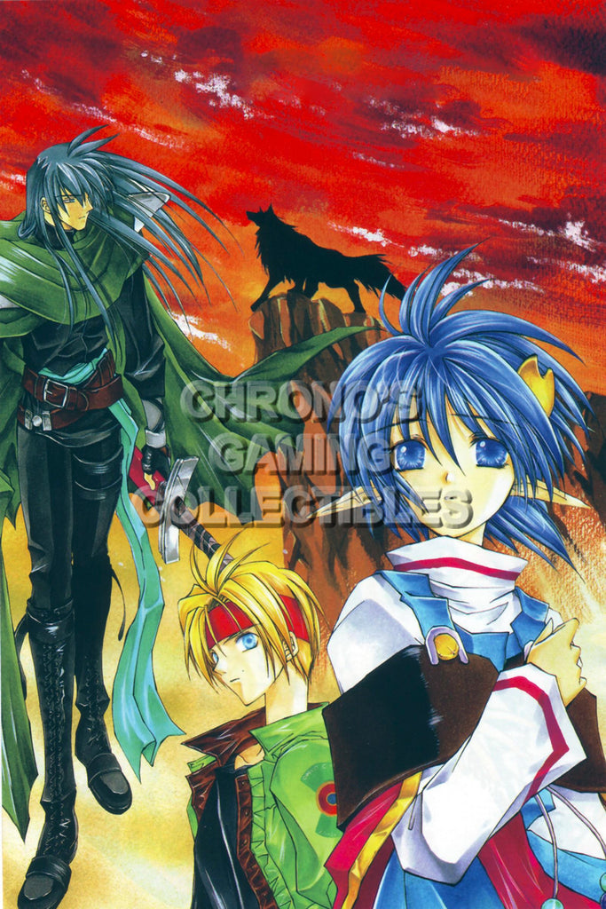 CGC Huge Poster - Star Ocean the Second Story PS1 PS2 PS3 PSP - STAR21