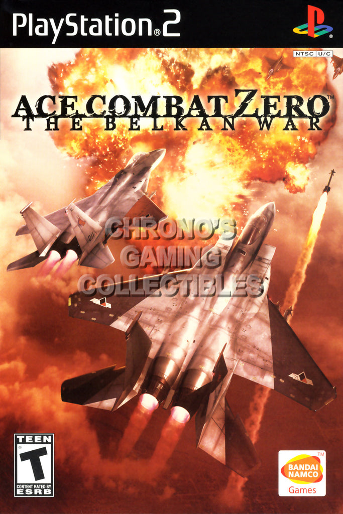 CGC Huge Poster - Ace Combat Zero the Belkan War - BOX ART Sony Plastation 2 PS2 - PS2010