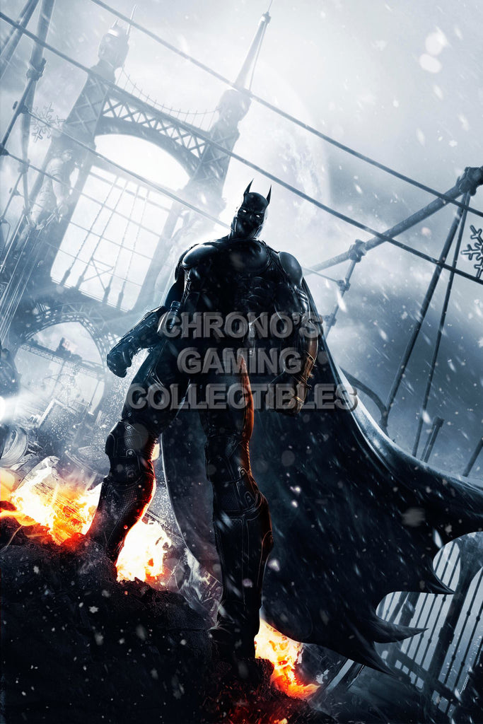 CGC Huge Poster - Batman Arkham Origins - PS3 XBOX 360 - BAT036