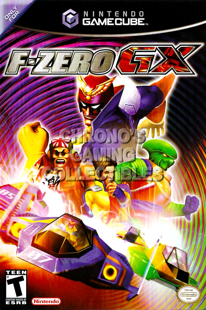 CGC Huge Poster - F-Zero GX BOX ART - Nintendo GameCube GC - NGC016