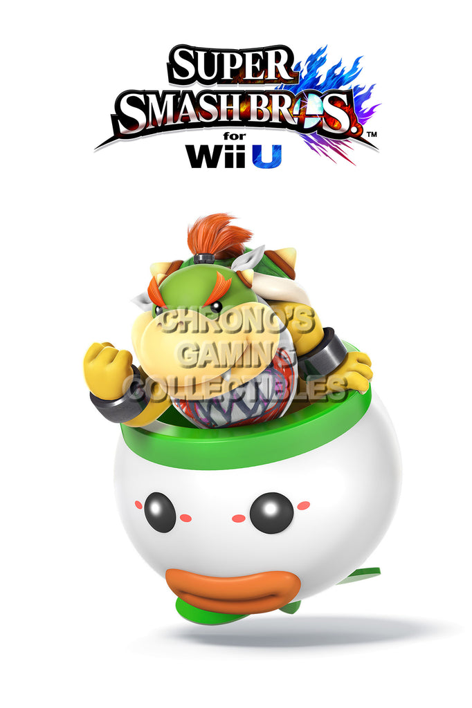 CGC Huge Poster - Super Smash Bros. Wii U 3DS Bowser Jr. - SMAC01
