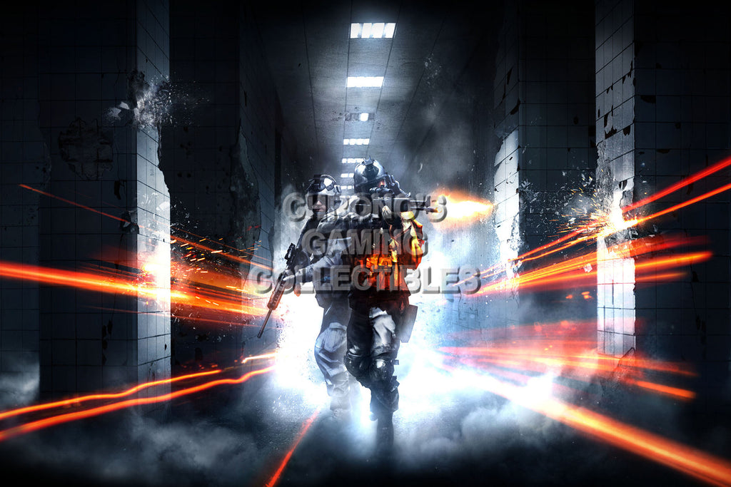 CGC Huge Poster - Battlefield 3 - PS3 XBOX 360 PC - BAF005