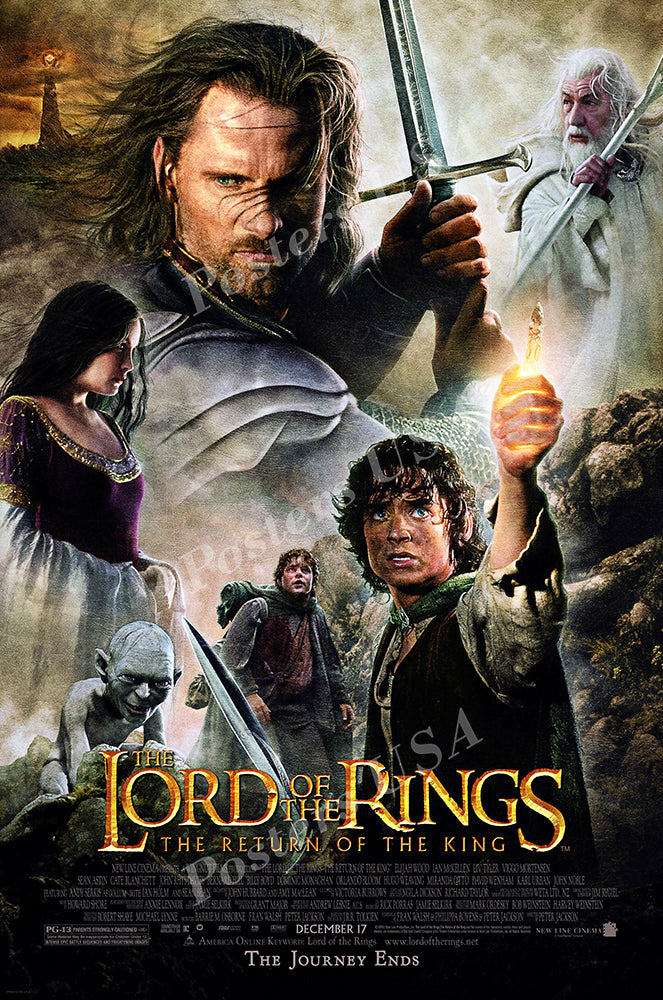 Posters USA - The Lord of the Rings The Return of the King Movie Poster GLOSSY FINISH - MOV158