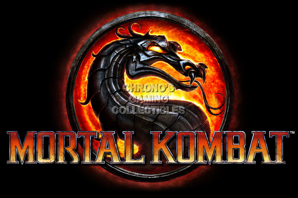 CGC Huge Poster - Mortal Kombat Logo PS3 PS4 XBox 360 One - MKX071