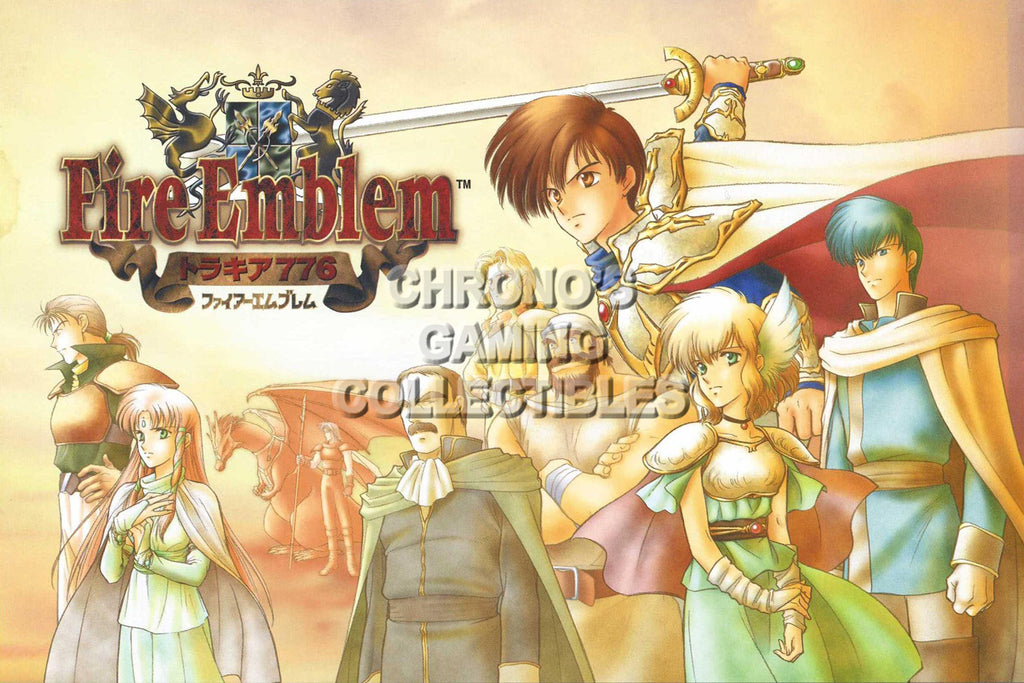 CGC Huge Poster - Fire Emblem Thracia 776 SNES Super Famicon - FEM020