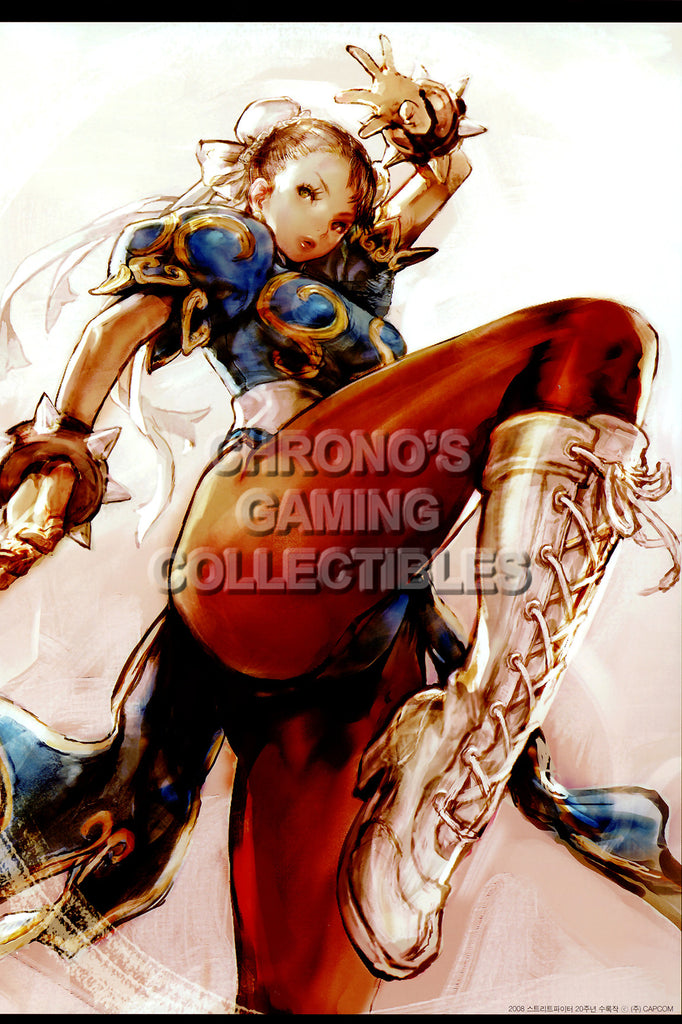 CGC Huge Poster - Street Fighter IV  Chun-Li - STR030