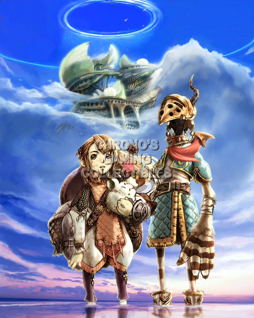 CGC Huge Poster - Final Fantasy Crystal Chronicles Nintendo GameCube Wii DS - FCC003