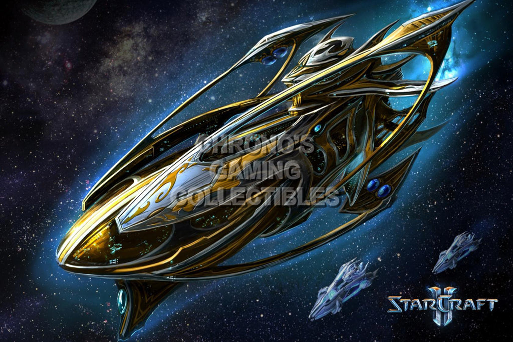 CGC Huge Poster - Starcraft II Wings of Liberty - Protoss Carrier - STC019