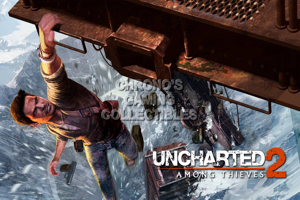 CGC Huge Poster - Uncharted 2 Among Thieves - PS3 - UCH007