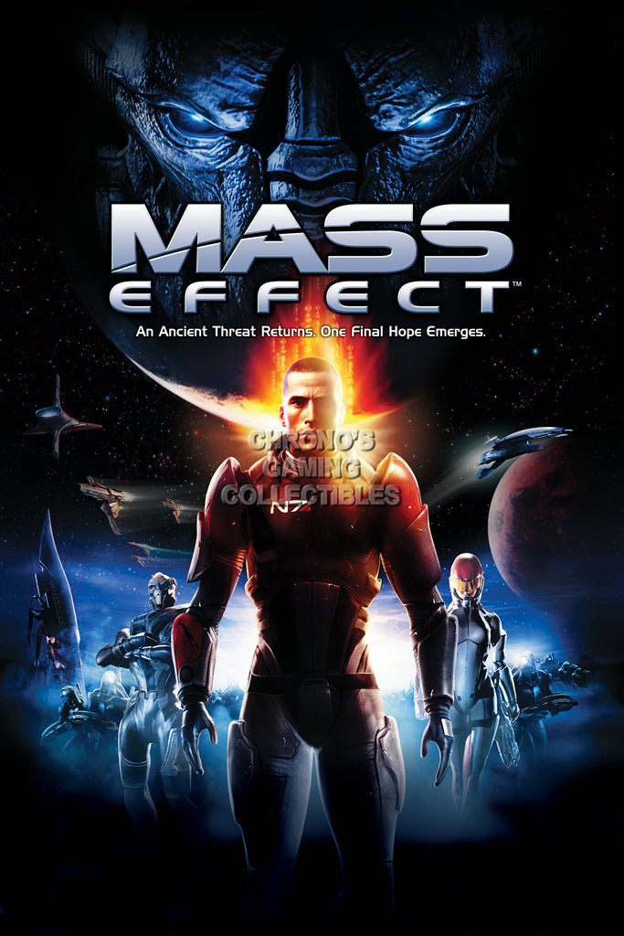 CGC Huge Poster - Mass Effect PS3 XBOX 360 PC - MAS046