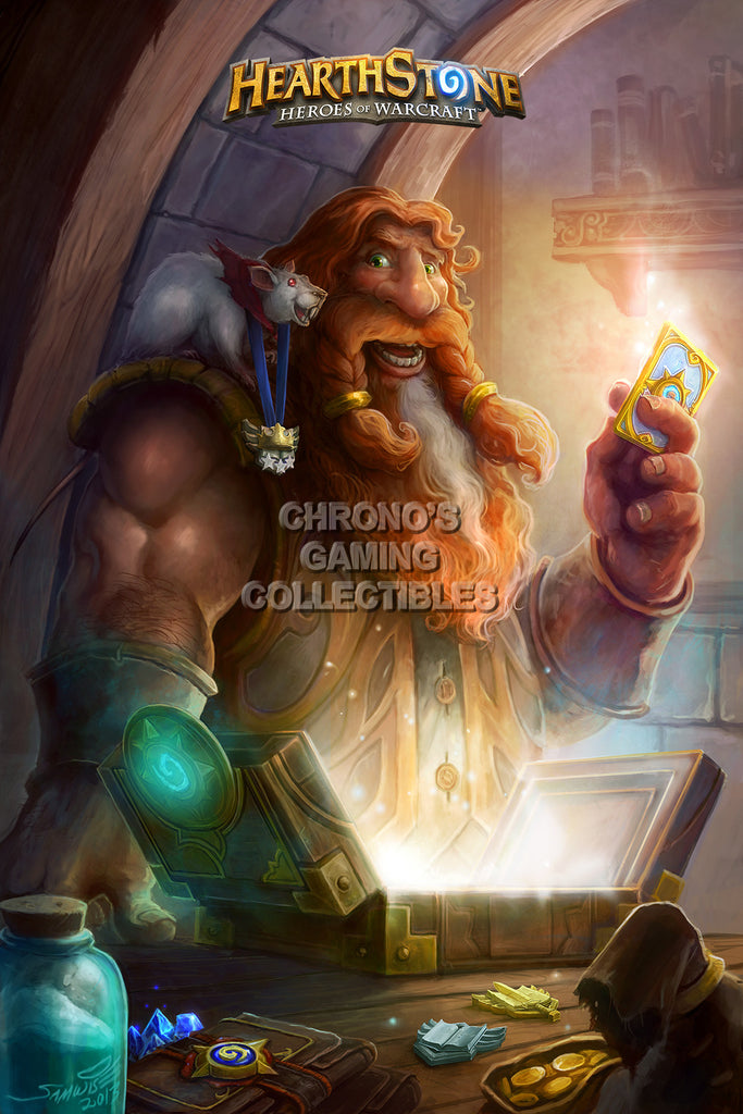 CGC Huge Poster - Hearthstone Heroes of Warcraft Inn Keeper - HEA016