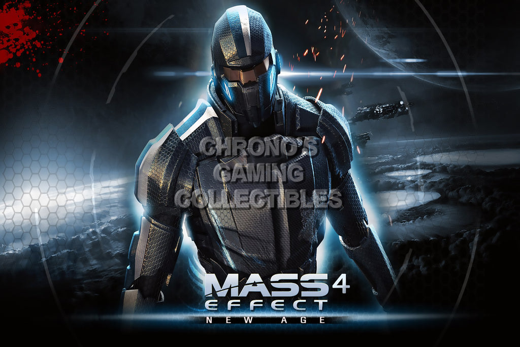 CGC Huge Poster - Mass Effect PS3 XBOX 360 PC - MAS030