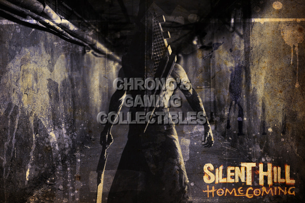 CGC Huge Poster - Silent Hill Homecoming -  PS3 XBOX 360 - SIL010