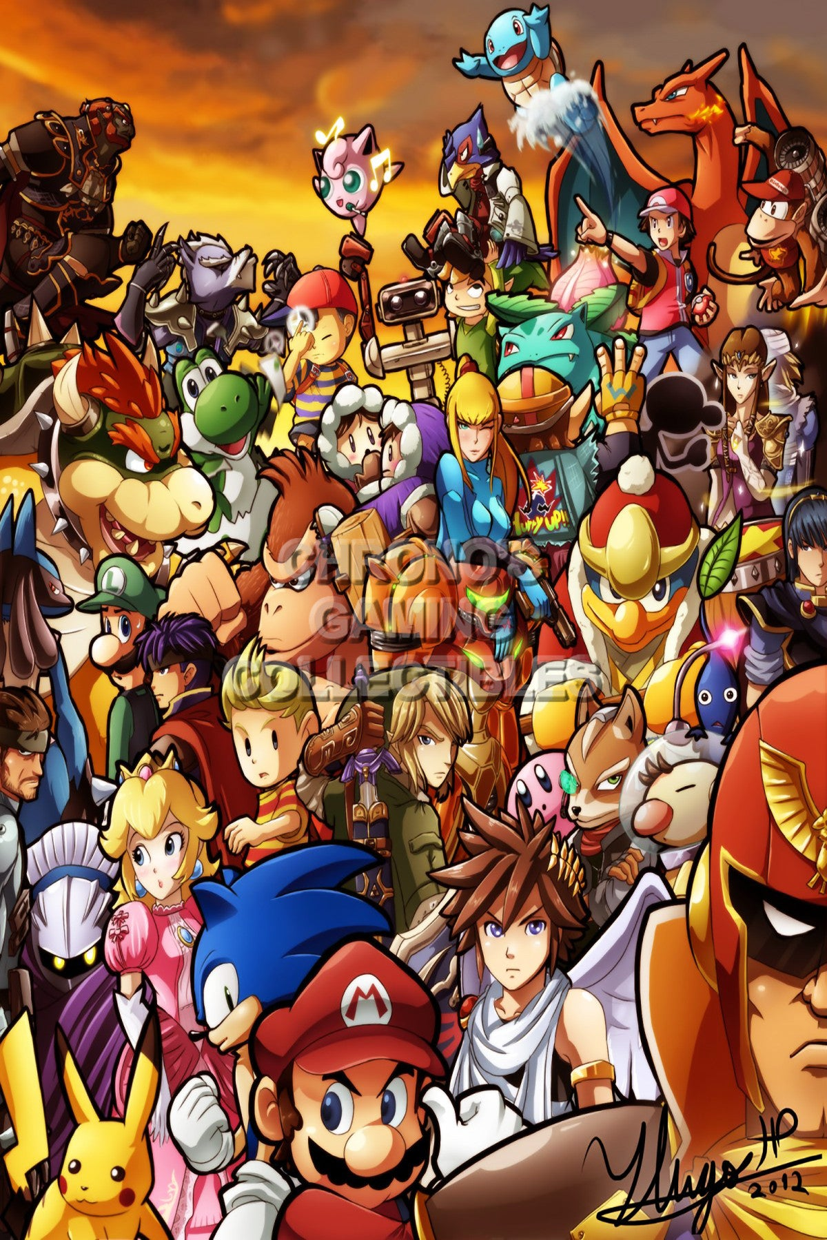 Super Smash Bros. Video Games Poster   CGCPosters