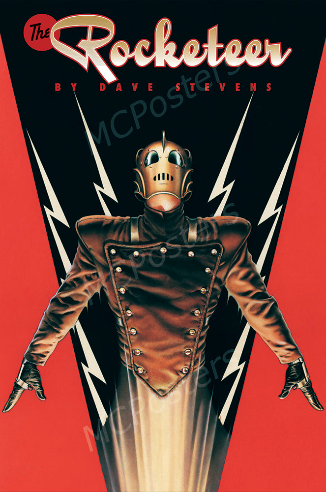 MCPosters - The Rocketeer GLOSSY FINISH Movie Poster - MCP908