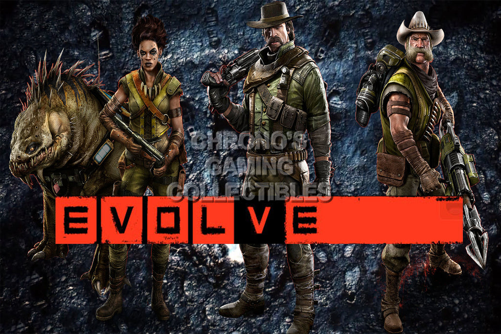 CGC Huge Poster -Evolve Trapper Team - PS4 XBOX ONE - EVO015