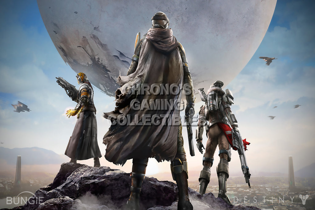 CGC Huge Poster - Destiny Cover Art Sony PS3 PS4 XBOX 360 ONE - DES004
