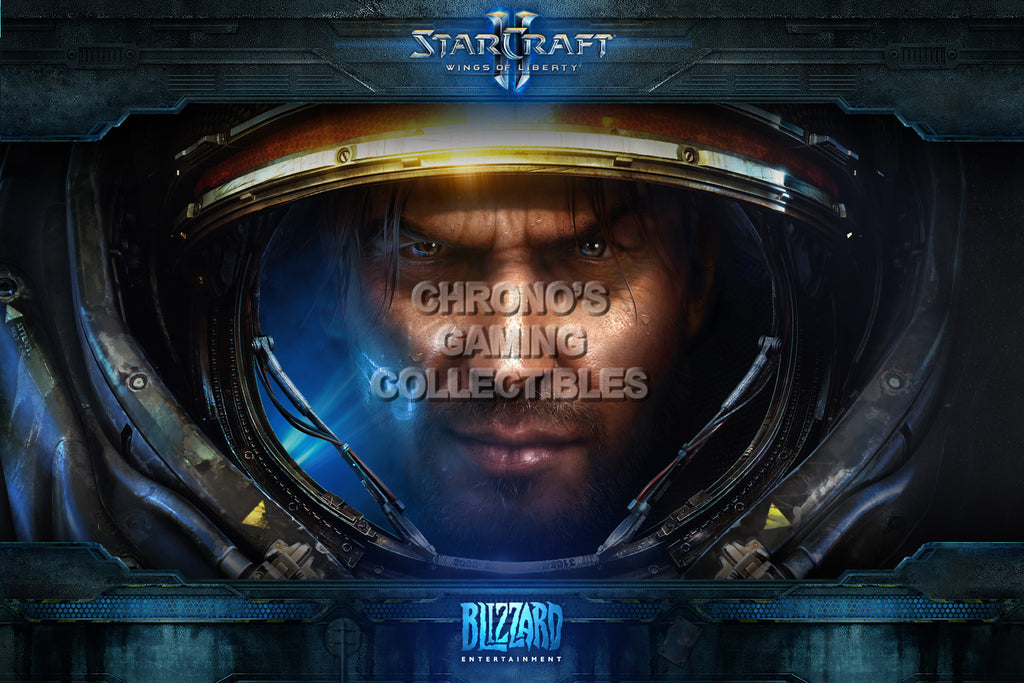 CGC Huge Poster - Starcraft II Wings of Liberty - Jim Raynor - STC021
