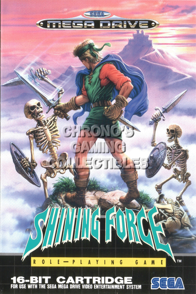 CGC Huge Poster - Shining Force Sega Genesis - SHF001