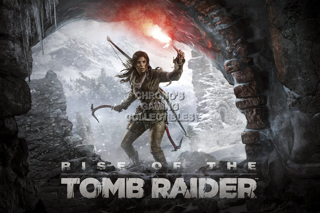 CGC Huge Poster - Rise of The Tomb Raider Lara Croft - XBOX ONE PS4 PC - TOM024