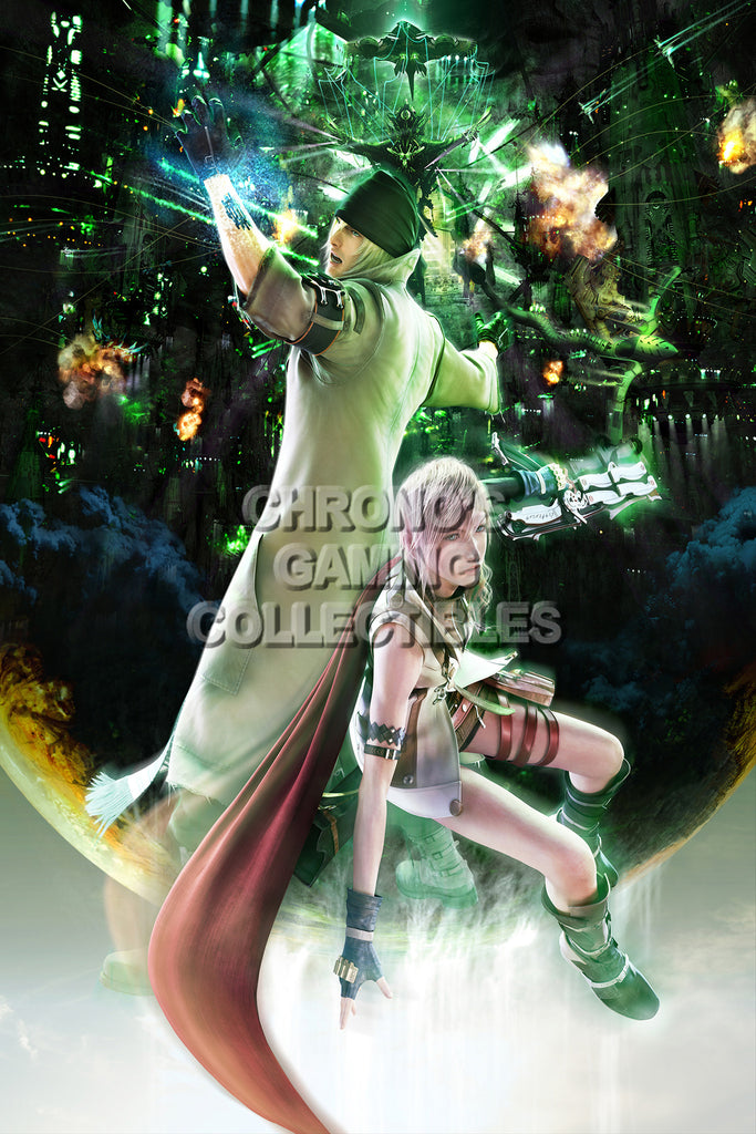CGC Huge Poster - Final Fantasy XIII Lightning Returns PS3 PS4 XBOX 360 - FXIII022