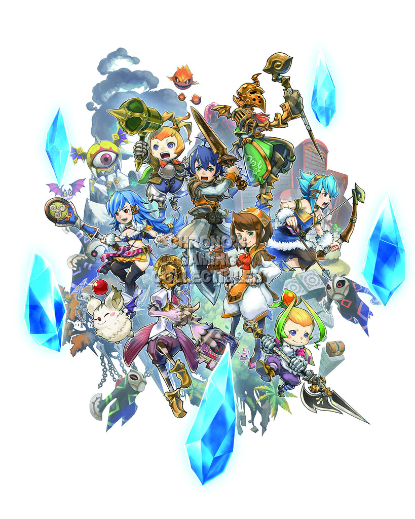 CGC Huge Poster - Final Fantasy Crystal Chronicles Nintendo GameCube Wii DS - FCC004