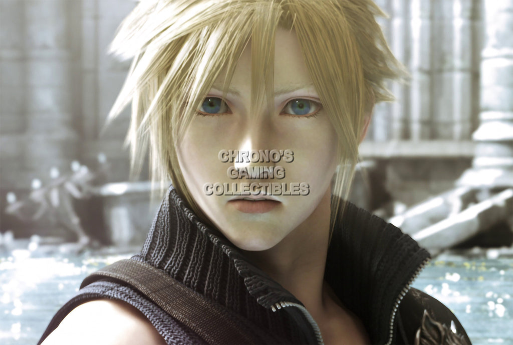 CGC Huge Poster - Final Fantasy VII Advent Children Cloud Strife PS1 PSP - FVII001