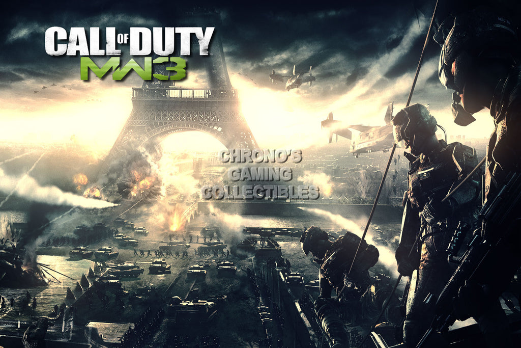 CGC Huge Poster - Call of Duty Modern Warfare 3 COD PS3 PS4 XBOX 360 One - COD011