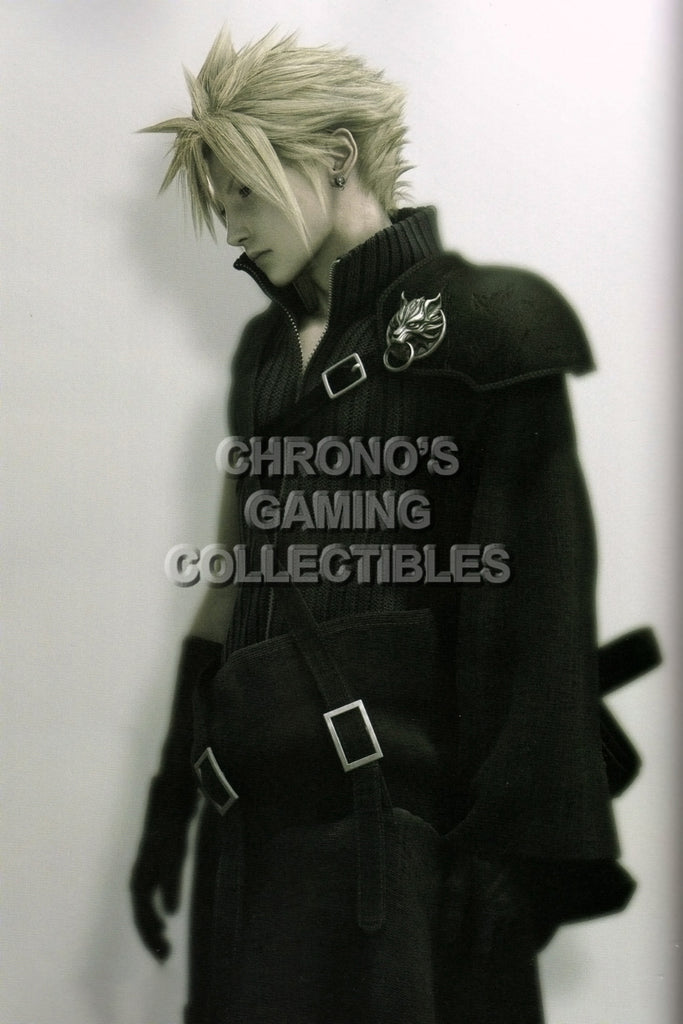 CGC Huge Poster - Final Fantasy VII Advent Children Cloud Strife PS1 PSP - FVII050
