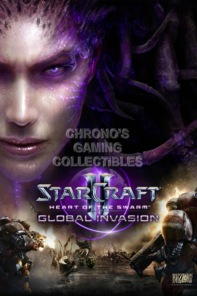 CGC Huge Poster - Starcraft II Heart of the Swarm- STC012
