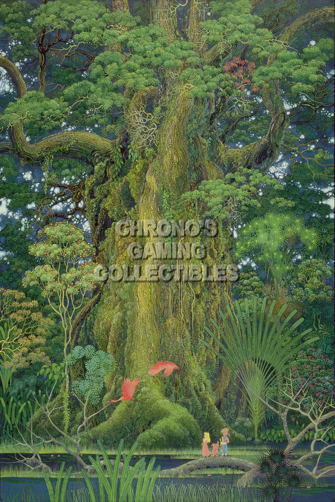 "CGC Huge Poster - Secret of Mana Art Super Nintendo SNES Art - SOM003 (16"" X 24"")"
