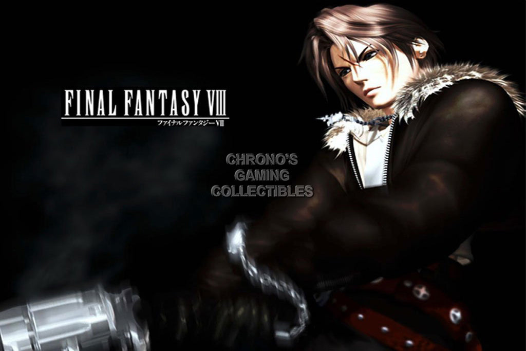 CGC Huge Poster - Final Fantasy VIII Squall PS1 PS2 PS3 PSP Vita - FVIII008