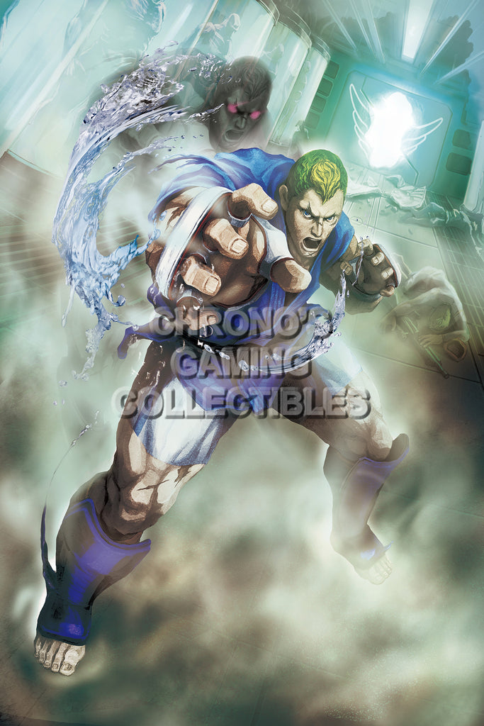 CGC Huge Poster - Street Fighter IV  Abel - STR006
