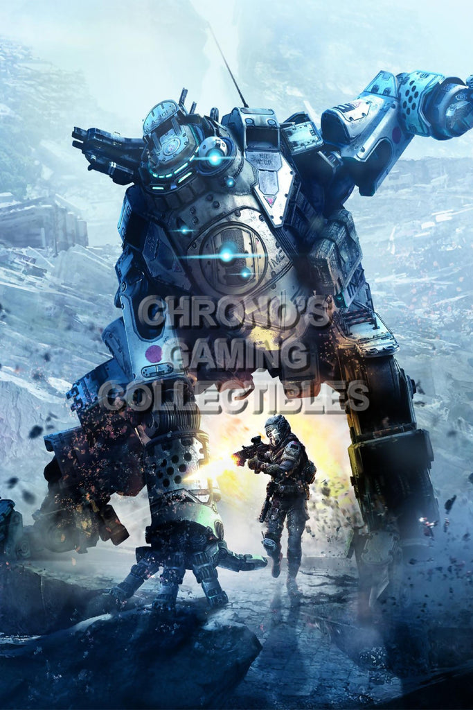 CGC Huge Poster - Titanfall - XBOX 360 ONE PC - TAN013
